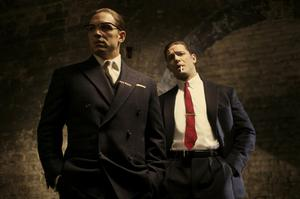 Brothers grim: Director Brian Helgeland cast Tom Hardy as both Ronnie and Reggie Kray in his movie Legend which charts the rise and fall of the notorious gangsters.