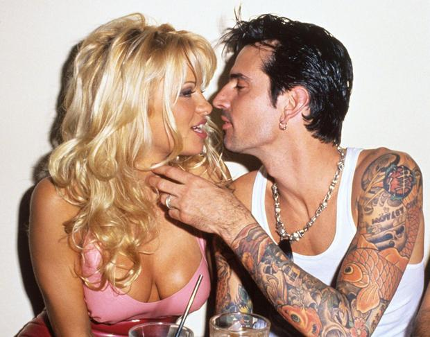 Whirlwind marriage: Pamela Anderson and Tommy Lee in 1995