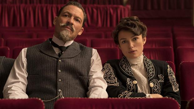 Keira Knightley and Dominic West star in 'Colette'