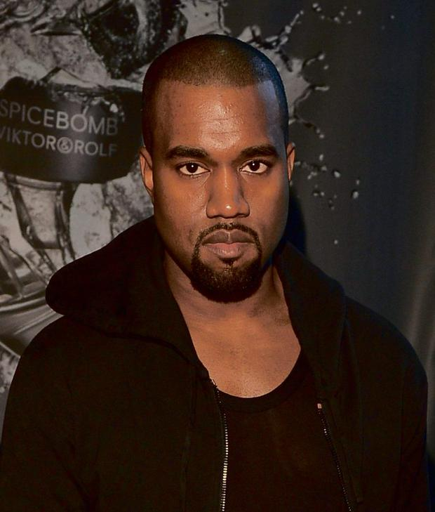 Kanye West. (Photo by George Pimentel/Getty Images)...E