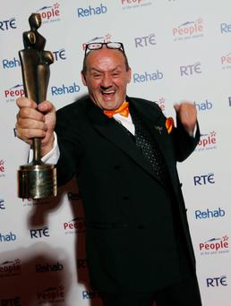 Brendan O'Carroll, who is to retrace his family's footsteps