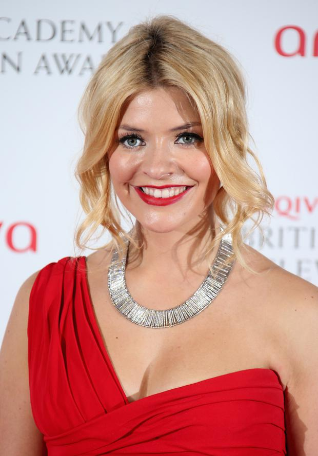 Holly Willoughby admitted having a little crush on Colin Farrell