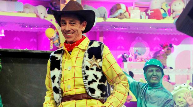 Ryan Tubridy will appear as chimney sweep Bert on Friday's Mary Poppins-themed show.