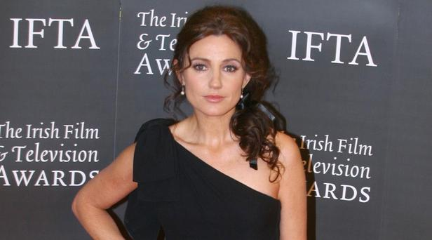 Pivotal: Irish actress Orla Brady plays a woman from Time Lord's murky past in Dr Who Christmas special