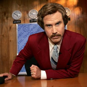Actor Will Ferrell as