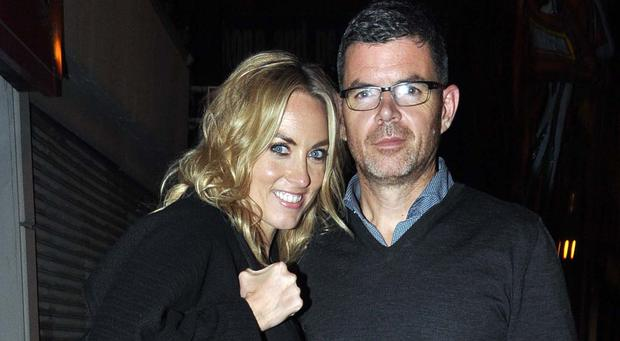 Kathryn and the new man in her life, Padraig McLoughlin
