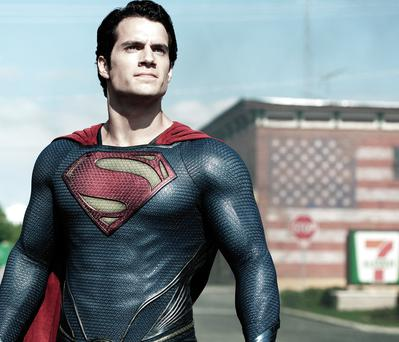 Flying colours: Henry Cavill as Superman in Man of Steel