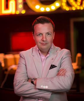 Oliver Callan's new show launches on RTE at 9.30pm July 11. Photo: Fergal Philips.