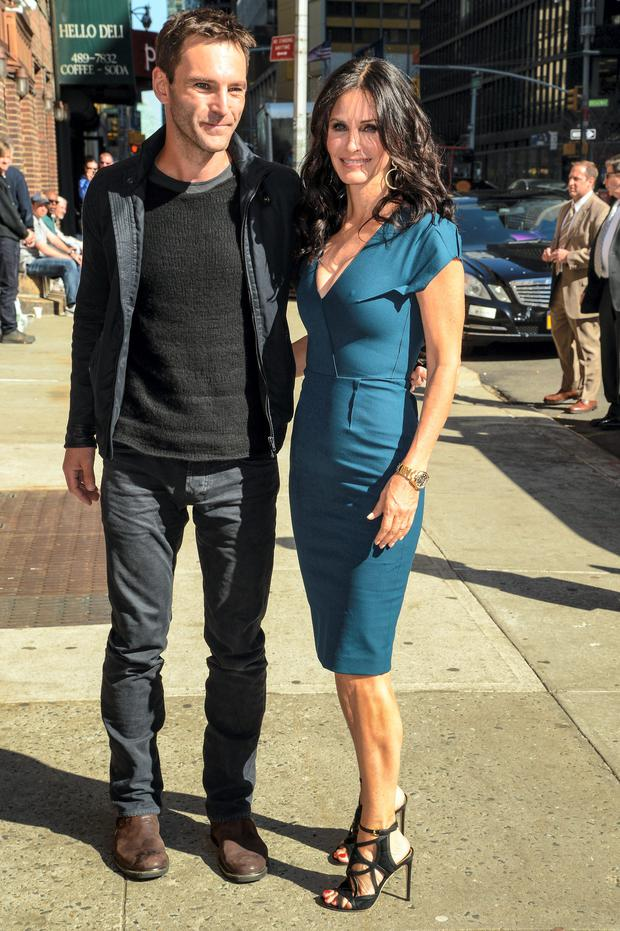 Johnny McDaid and Courteney Cox