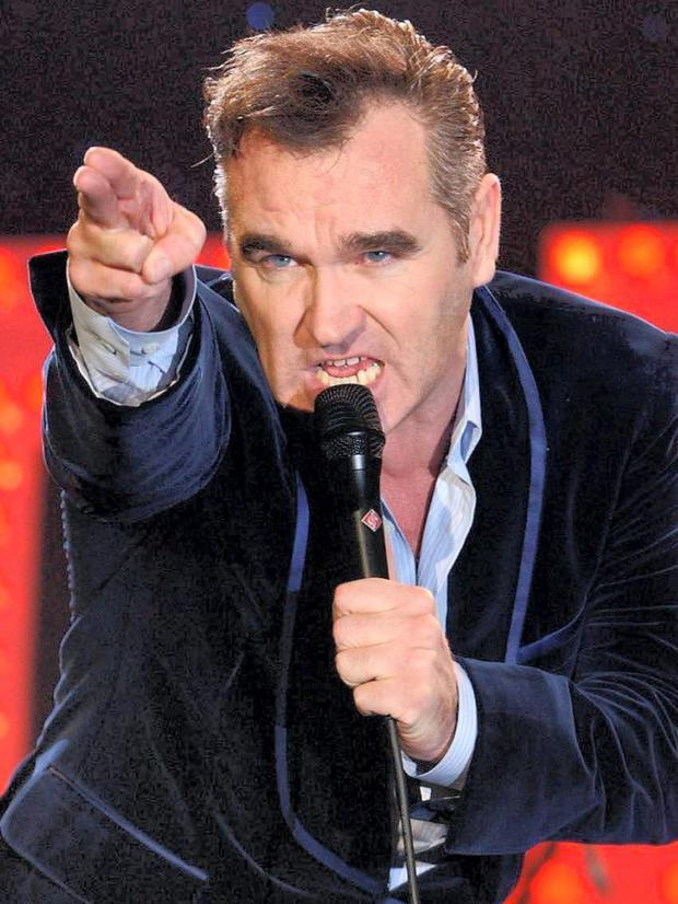 Shooting From The Lip: Morrissey has never been short of a controversial opinion