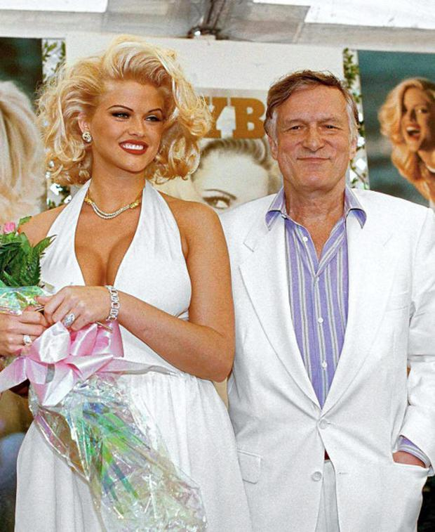 Anna Nicole Smith and Hugh Hefner