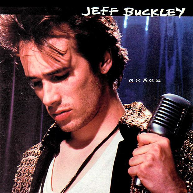 Jeff Buckley on the 'Grace' album cover