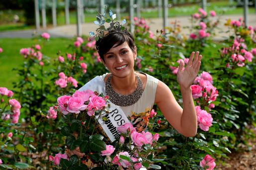 Winning Rose of Tralee 2014 Philadelphia Maria Walsh wearing the necklace