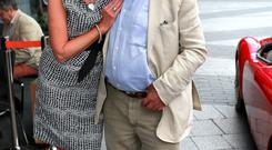 Paolo Tullio with partner Marian Kenny