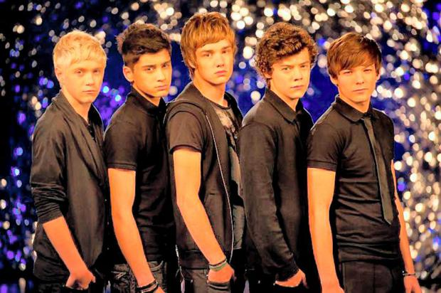 One Direction in The X Factor