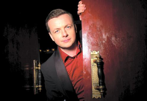 Not just pulling your leg: Top comic Oliver Callan is having an operation on his knee.
