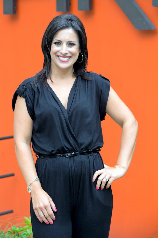 Lucy Kennedy at the TV3 Autumn Winter schedule launch in the Mansion House last Wednesday.