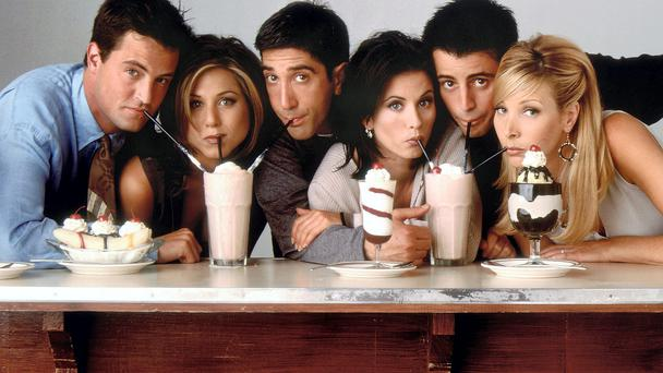 Friends: the six actors who formed the cast played off each other's strengths