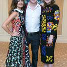 Sharon Corr, Louis Walsh and actress Saoirse Ronan at the annual ISPCC Brown Thomas fashion show.