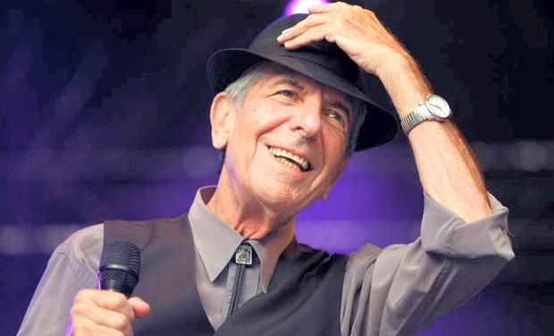 Leonard Cohen is largely known for his sombre songwriting, but his new album is celebratory, adventurous and vivid