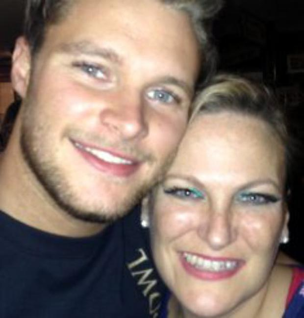 Jack Reynor and his mother Tara