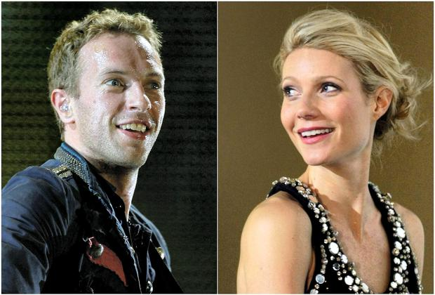 Chris Martin and former wife Gwyneth Paltrow.