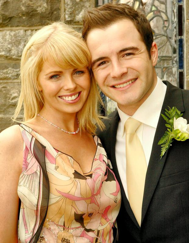 Shane Filan with his wife Gillian, who was a great comfort to him when his financial difficulties emerged.