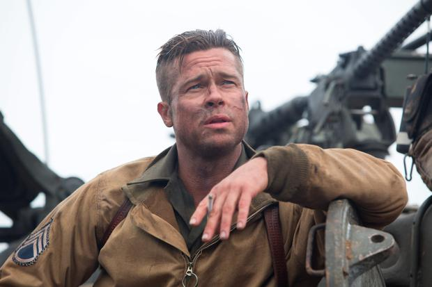 Brad Pitt says little but communicates volumes