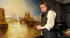 Rousing: Timothy Spall plays JMW Turner, one of the most celebrated painters of the 19th Century, in Mr Turner
