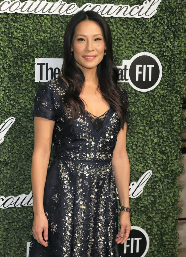 Lucy Liu responded to Bill Murray with swinging fists.