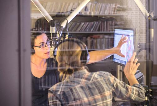 TV gold on the radio: The Serial podcast, hosted by Sarah Koenig, attracts well over one million listeners (and counting) per episode worldwide