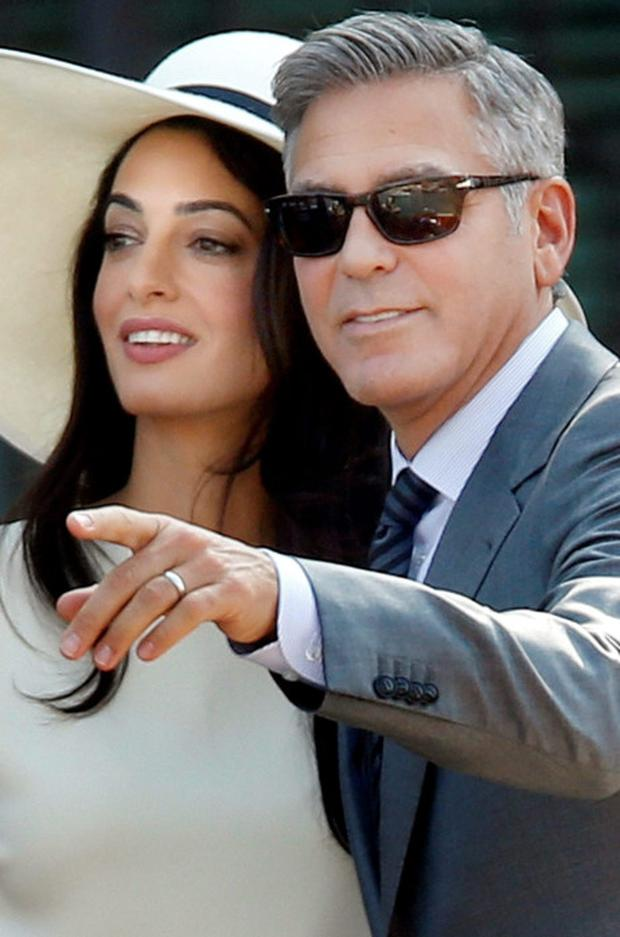 George and Amal plan a visit to the auld sod