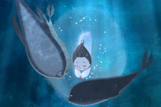 A still from Irish animation 'Song of the Sea' which has been nominated for an Oscar.
