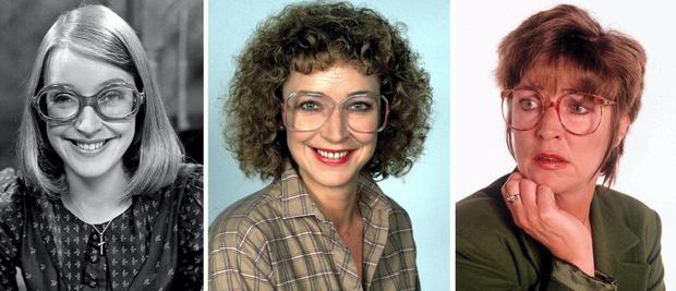 The faces of Deirdre Barlow