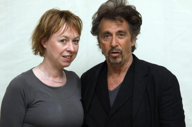 Patricia Danaher with Al Pacino
