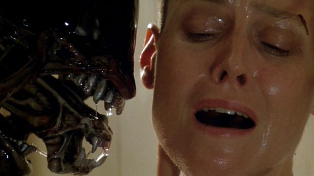 Spaceship story: A 29-year-old Sigourney Weaver stars in iconic sci-fi thriller 'Aliens'.