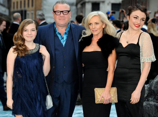 Ray Winstone: tough man at ease with his feminine side