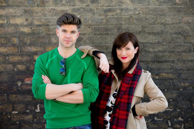 Darren Kennedy and Jennifer Maguire from The Unemployables