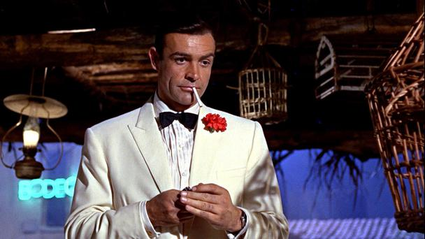 Shaken not stirred: Sean Connery as James Bond