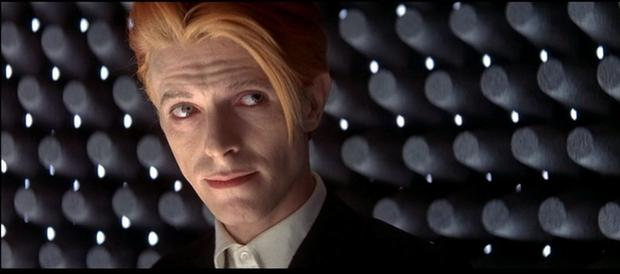 Changes: David Bowie seen here in the 1976 film 'The Man who fell to Earth' is set to collaborate with playwright Enda Walsh on a new musical