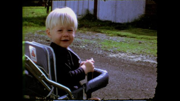 Kurt Cobain as a boy