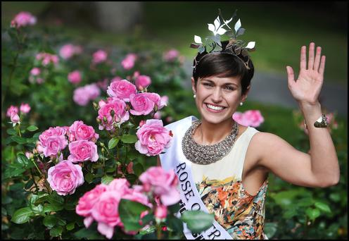Maria Walsh, who won the Rose of Tralee competition last year