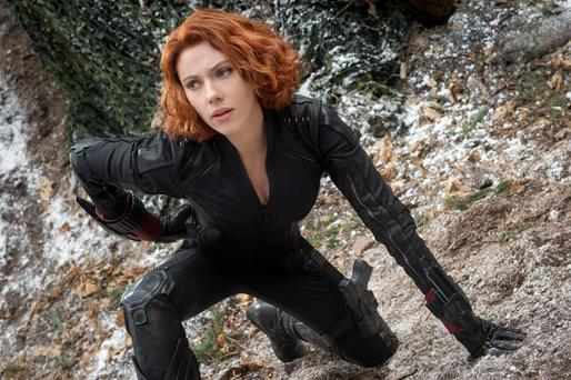 Spectacular: Scarlett Johansson as Black Widow in Avengers: Age of Ultron