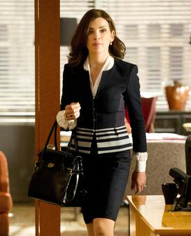 The Good Wife: Alicia's clothes echo her strength and prowess