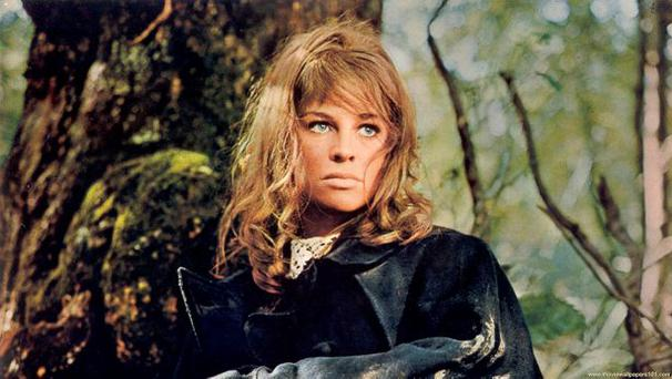 Transcendent beauty: Julie Christie in Far from the Madding Crowd.