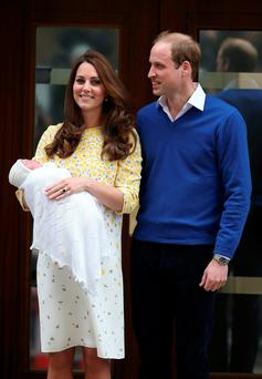 Kate and Will and baby