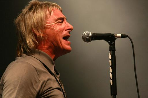 In it for the glory: Paul Weller is coming to Dublin in November