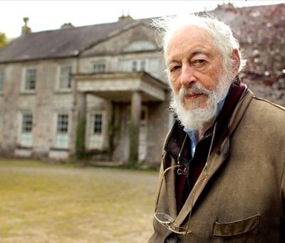 JP Donleavy outside Levington Park in 2011.