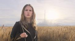 Muddle-headed plotting: Tomorrowland Britt Robertson in the problematic Disney adventure Tomorrowland