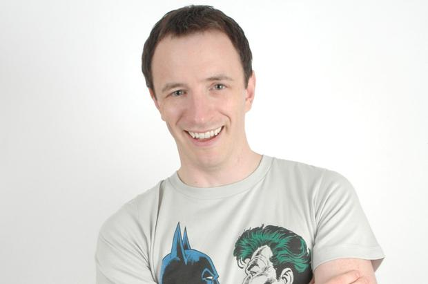 'I am saying prayers before I go on': Comedian Gearoid Farrelly who has opened for Joan Rivers.